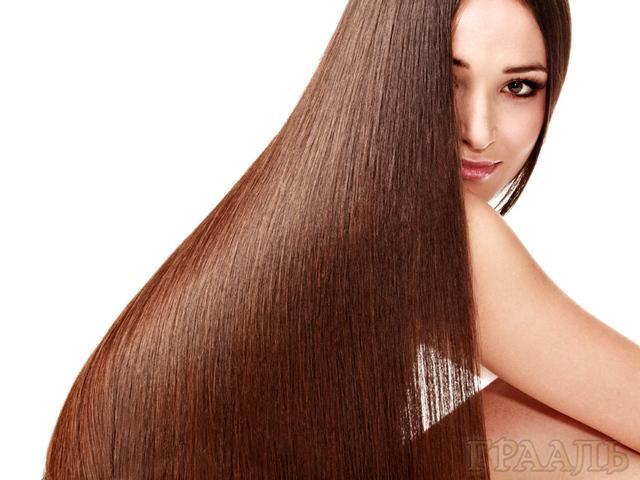 Кератиновое выпрямление волос в салоне Грааль