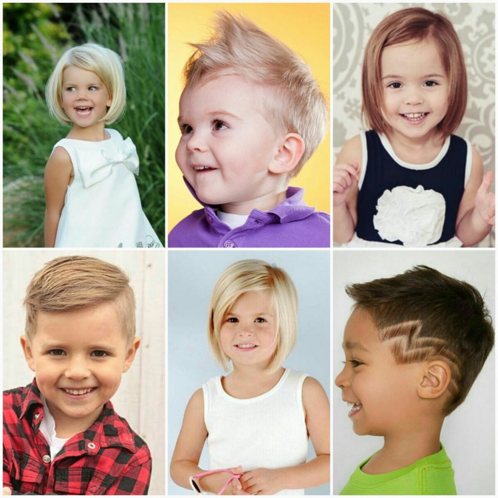 Childrens haircuts in the salon Grail