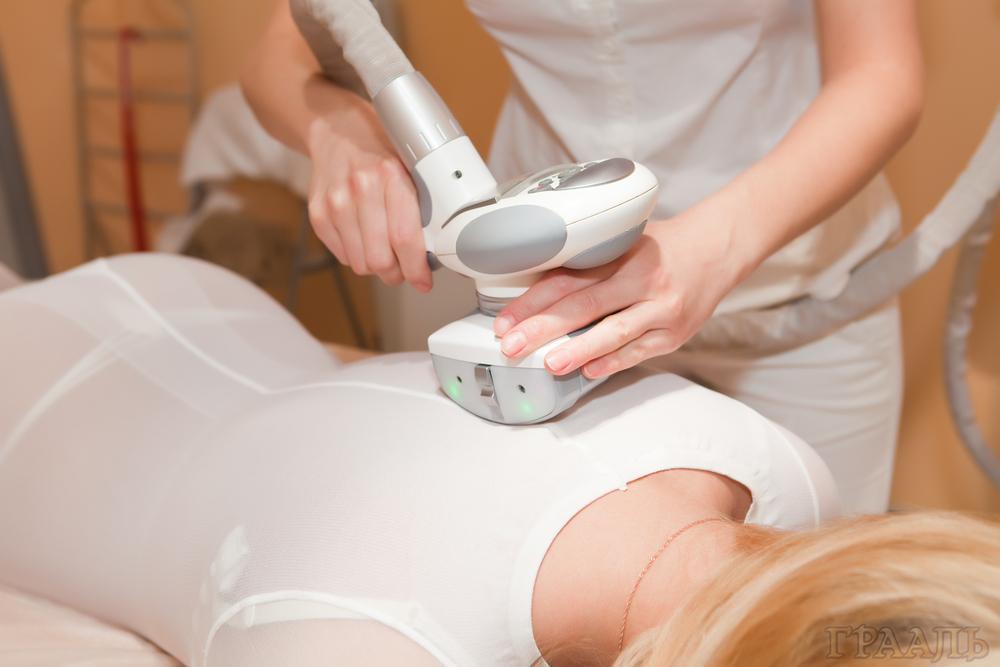 Аппаратный массаж в салоне красоты Грааль