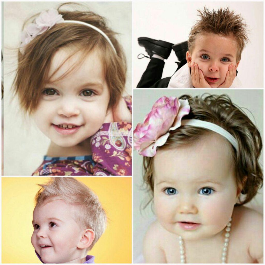 Стрижки для малышей в салоне Грааль