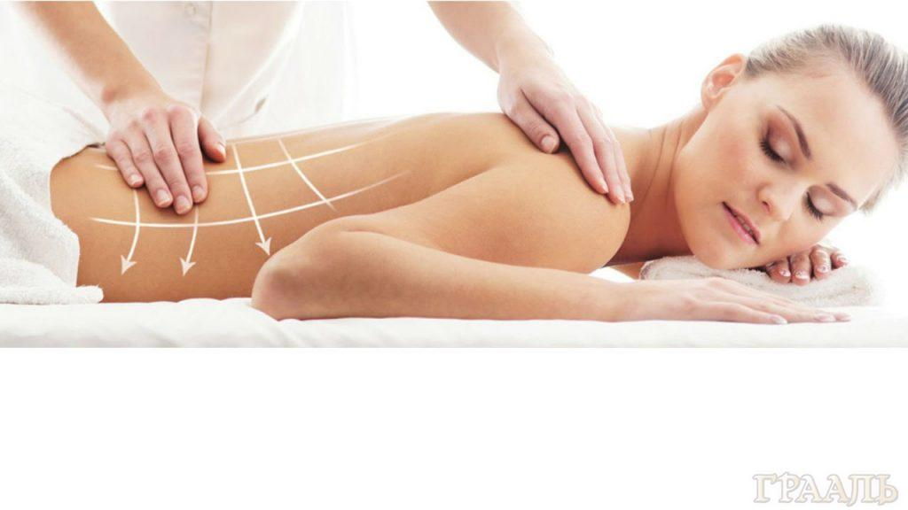 Manual therapy in the beauty salon Grail