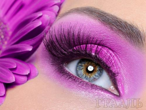 Eyelash extensions in salon Grail in Podolsk
