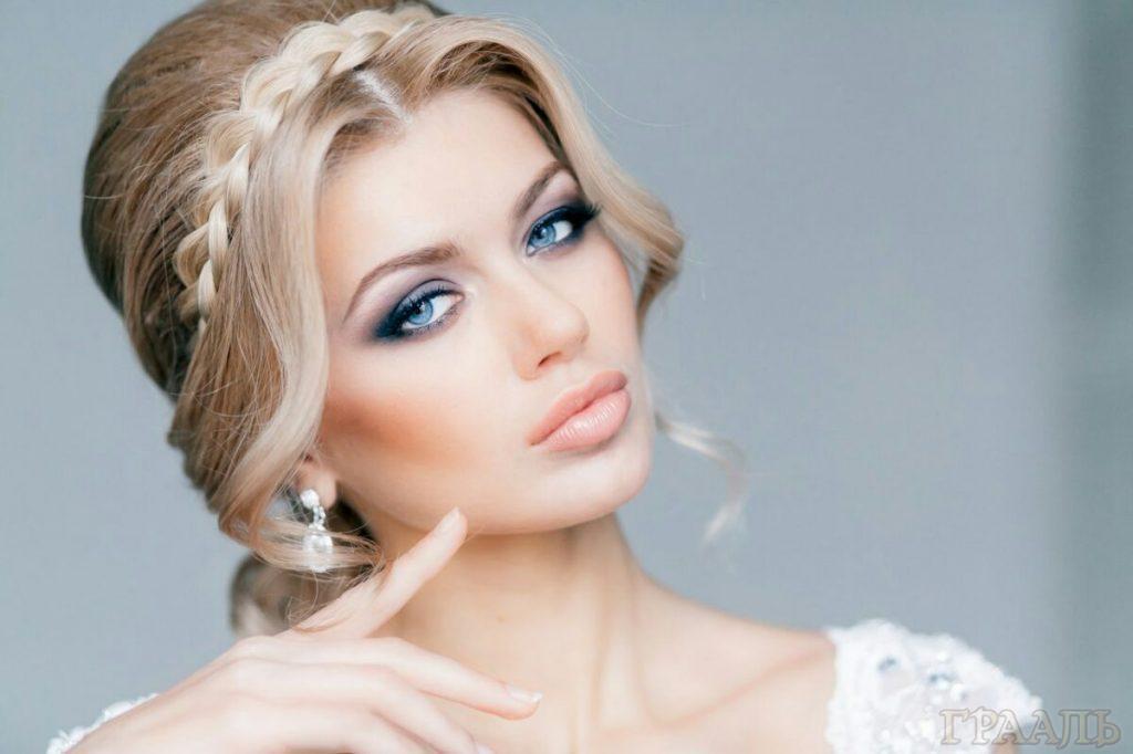 Свадебный макияж в салоне красоты Грааль