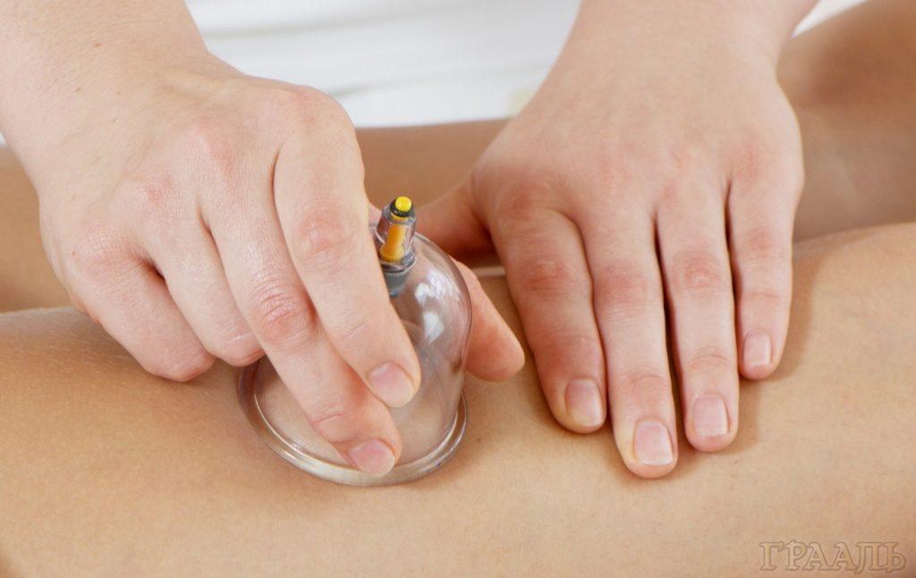 Вакуумный баночный массаж в салоне Грааль
